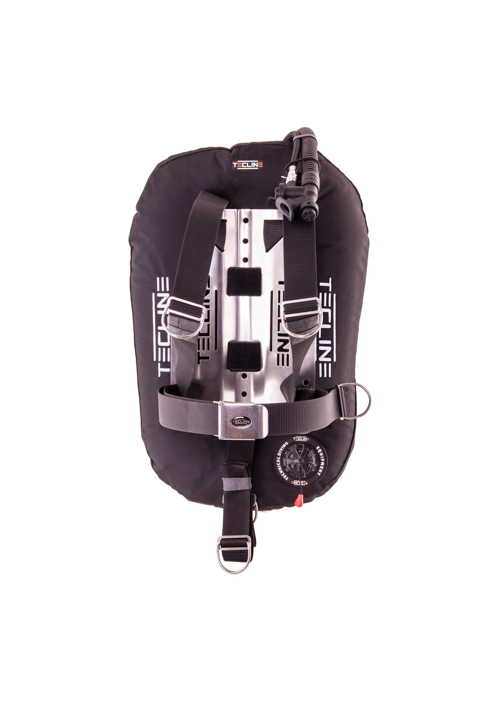 TecLine Donut 17 Zwart + DIR harness + tank belts & BP