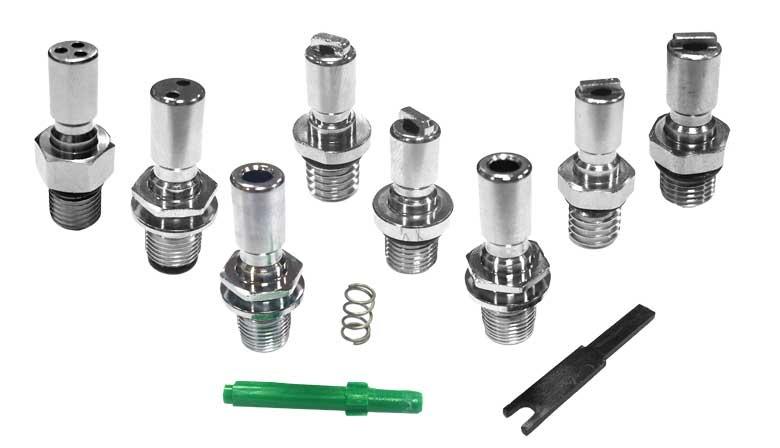 Inflater hose Schrader valve