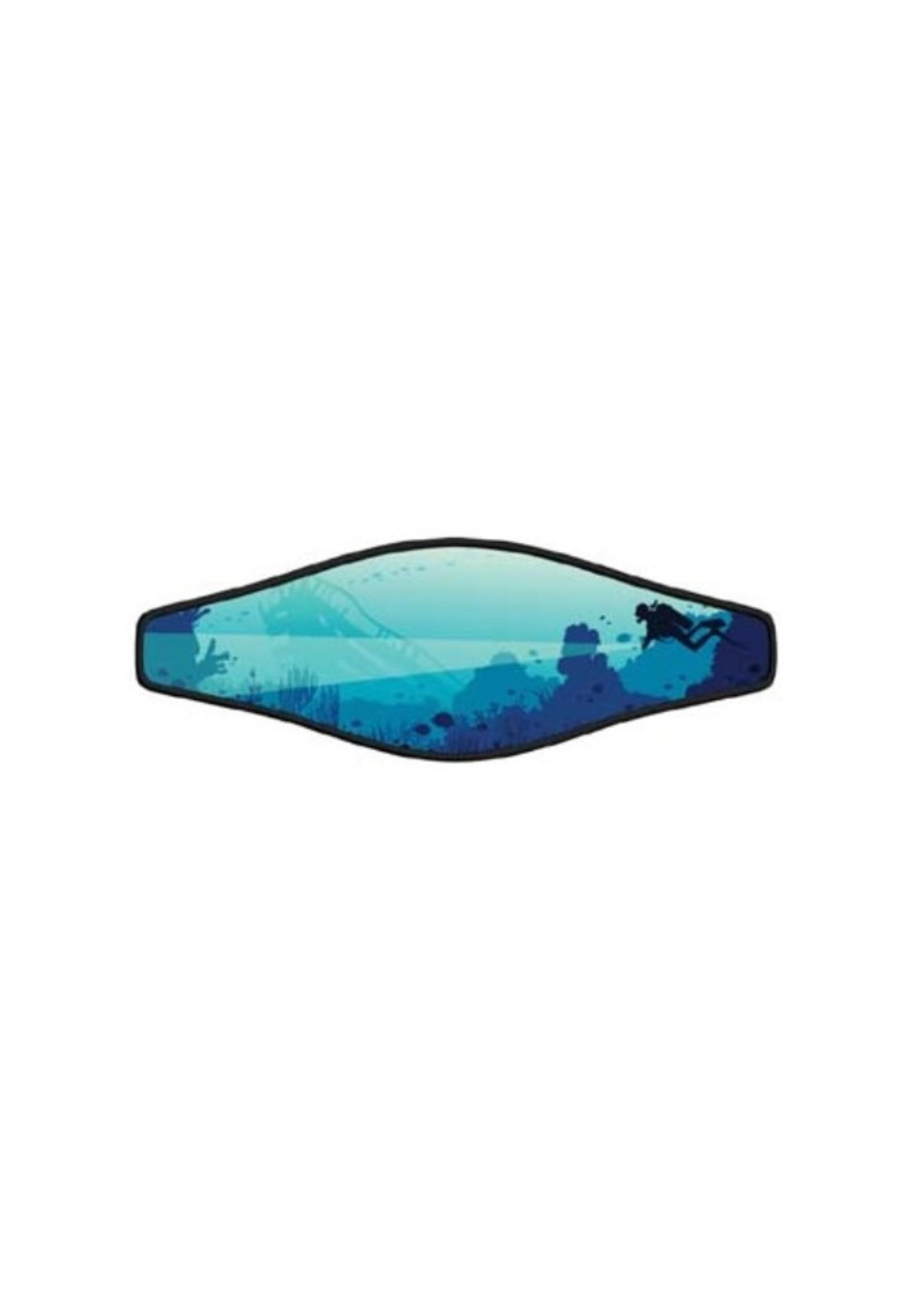 Neopreen Masker band - Blue Dive