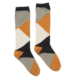 CarlijnQ Color Blocks Knee Socks