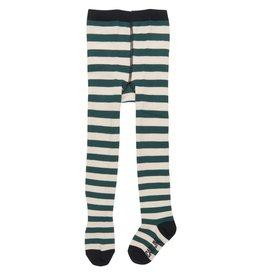 CarlijnQ Stripes Knee Socks Green/Off White