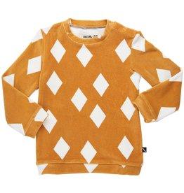 CarlijnQ Sweater Diamands Ochre