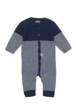 Snoozebaby Suit Knitted Indigo