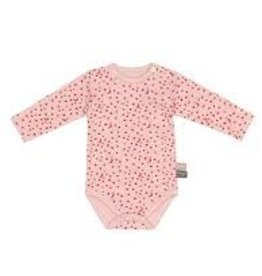 Snoozebaby Romper LS Poppy Red Star