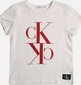 Calvin Klein Monogram Cropped SS T-shirt