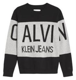 Calvin Klein Stamp Logo Sweater