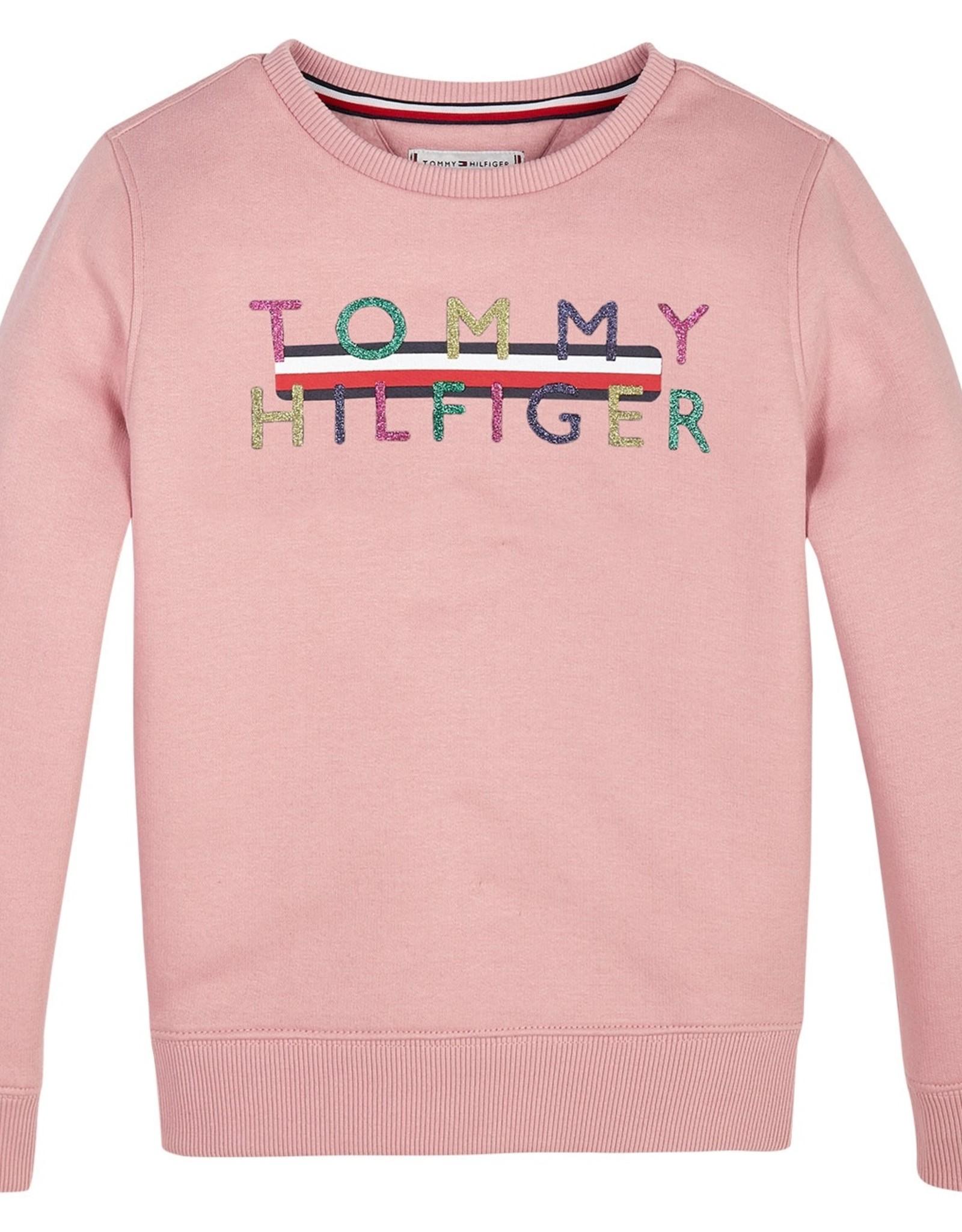 Tommy Hilfiger Iconic Logo Crew Swe, VFM