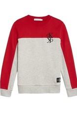 Calvin Klein Colour Block Monogram Sweatshirt