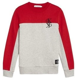 Calvin Klein Colour Block Monogram Sweatshirt