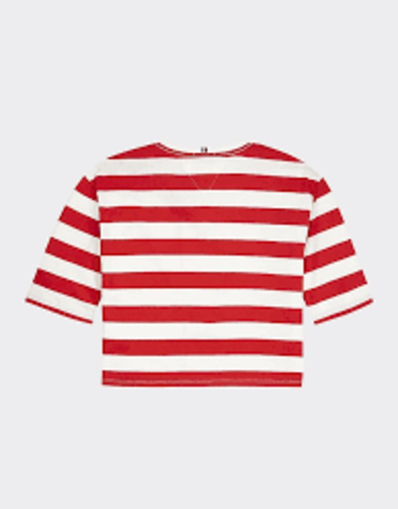 Tommy Hilfiger Stripe Flag Tee S/S