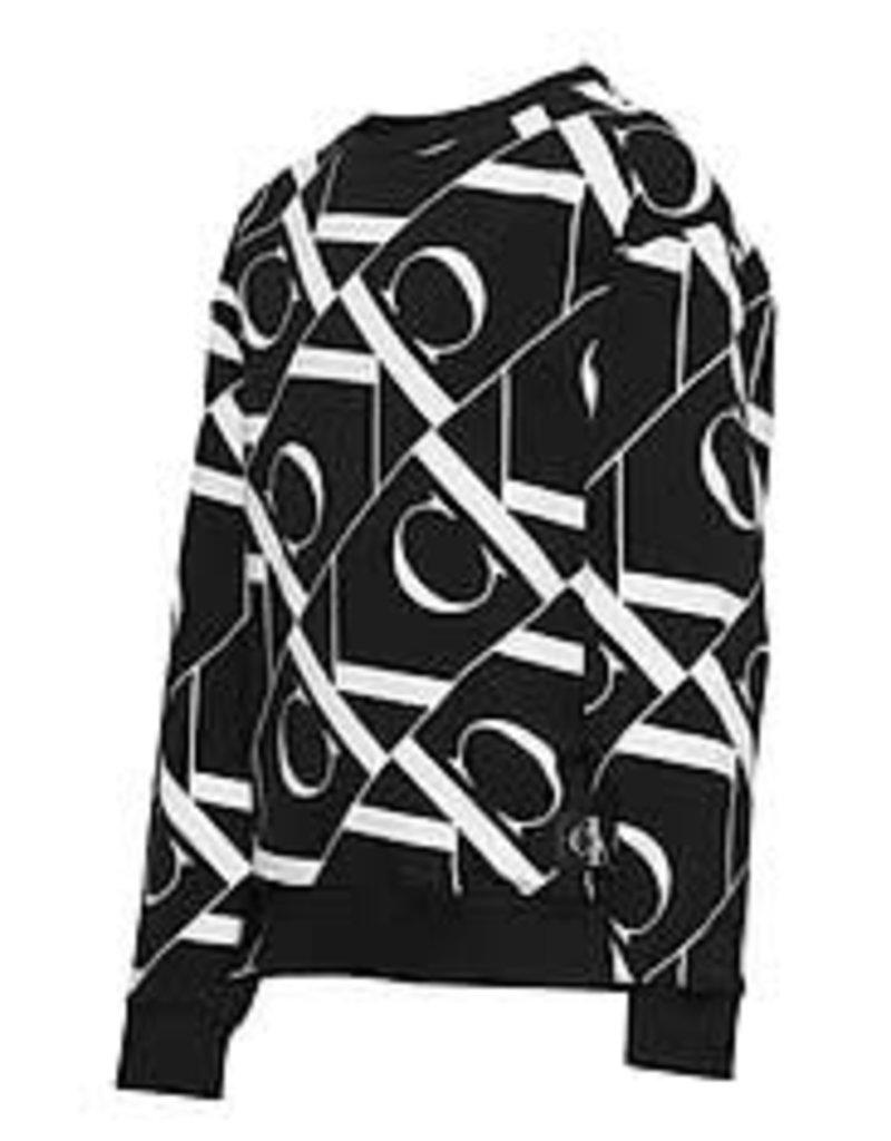Calvin Klein Mirror Monogram AOP Sweatshirt