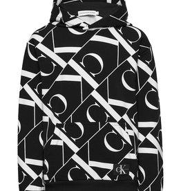 Calvin Klein Mirror Monogram AOP Hoodie