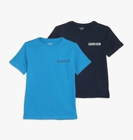 Calvin Klein 2PK Shirts Cloisonne/Blue Shadow
