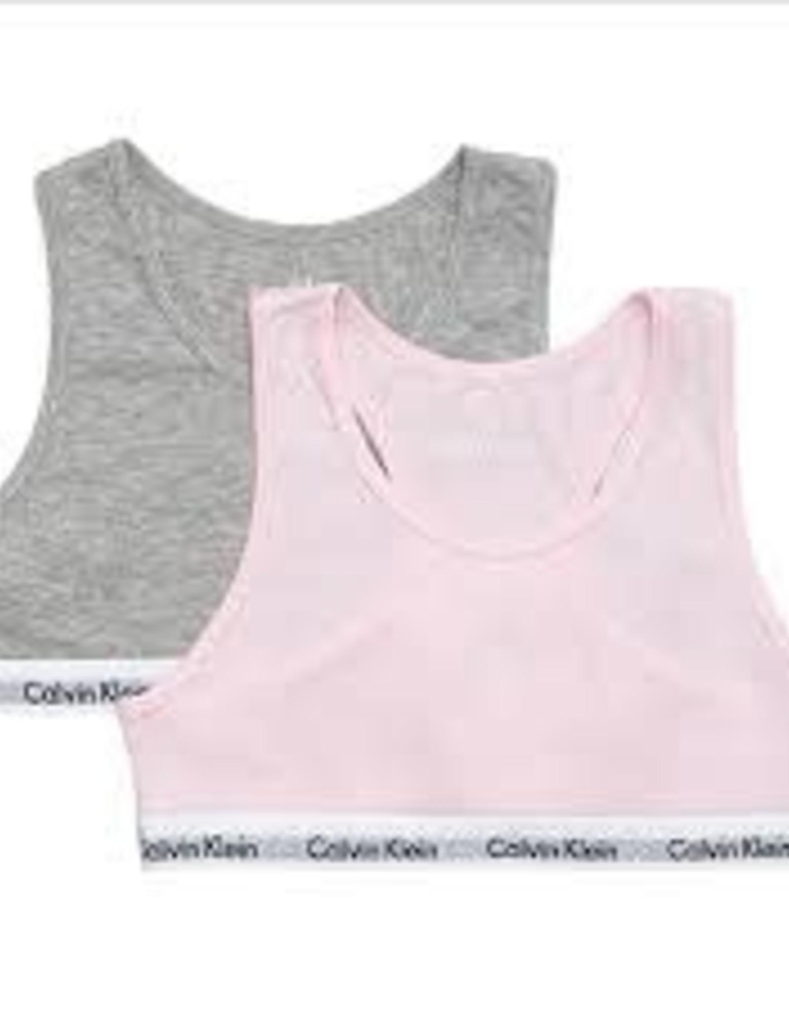 Calvin Klein 2PK Bralette Pink/Grey