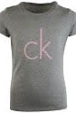 Calvin Klein 2PK SS Tee Grey/Pink