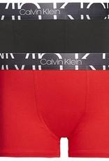 Calvin Klein 2PK Trunk Chinese Red/Black
