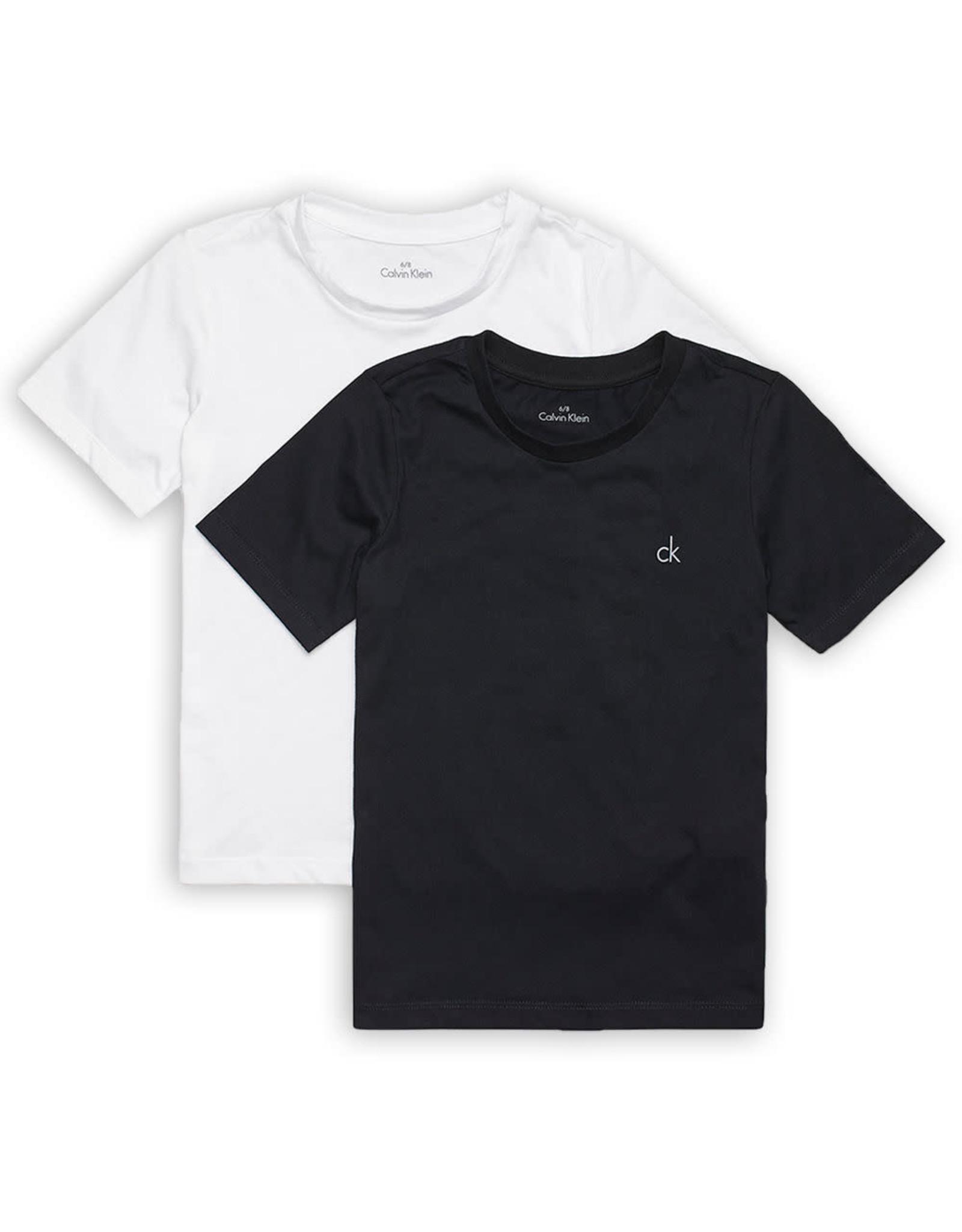 Calvin Klein 2PK SS Tee Black/White