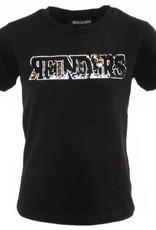 Reinders Wording T-shirt Zwart