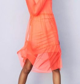 LMTD NLFHarissa LS Dress Fiery Coral