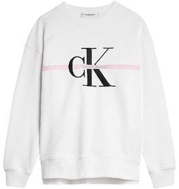 Calvin Klein Monogram Stripe Sweater