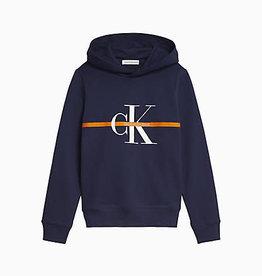Calvin Klein Monogram stripe Hoodie