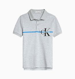 Calvin Klein Monogram stripe ss polo