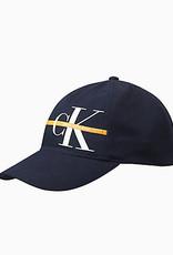 Calvin Klein Monogram Stripe bb cap peacoat
