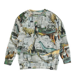 Molo Romeo Revival Animals Sweatshirt