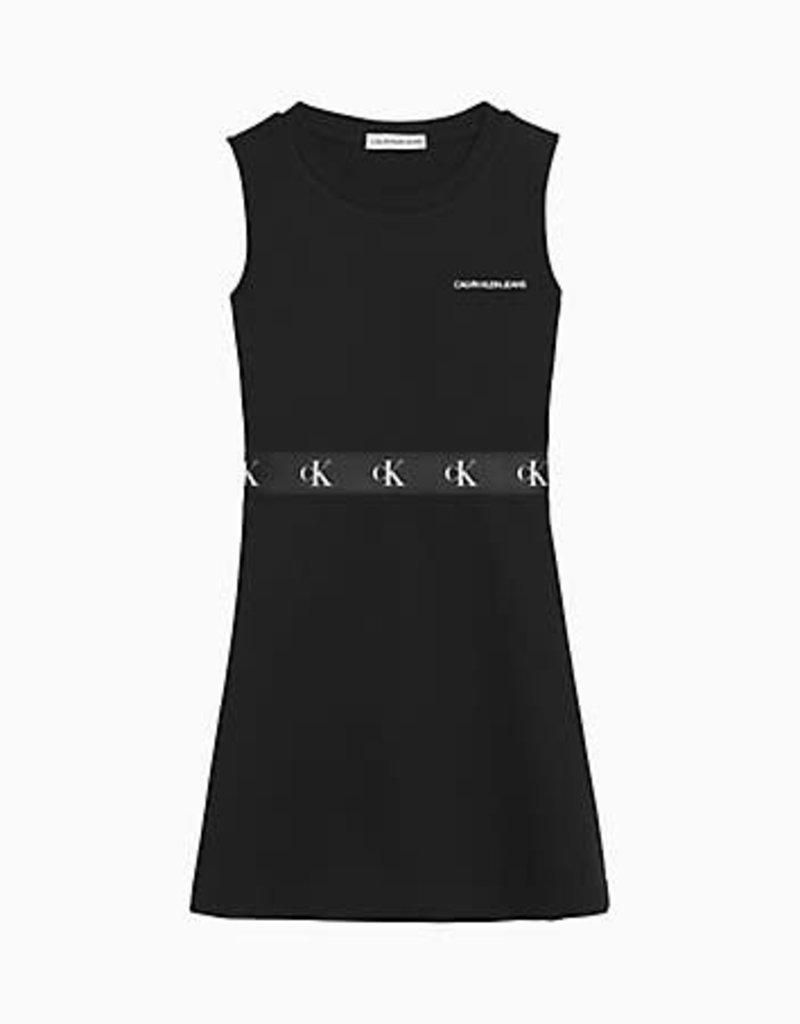 Calvin Klein Monogram Punto Skater Dress