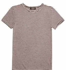 Circle of Trust Boys Ace Tee Stripe Red Graphite