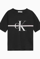 Calvin Klein Monogram Stripe SS T-shirt