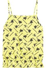 Calvin Klein Palm Logo AOP Sleeveless Top