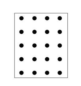 CarlijnQ Muursticker - Polka Dots