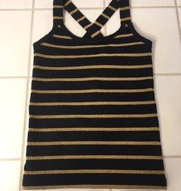 Little 10 Days Gold Stripe Wrapper Black/Gold mt 2jr