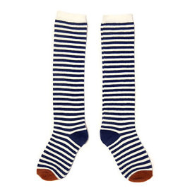 Sproet & Sprout Knee Socks Stripes mt 0-6 mnd