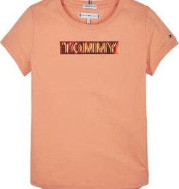Tommy Hilfiger Tommy Foil Label Tee S/S