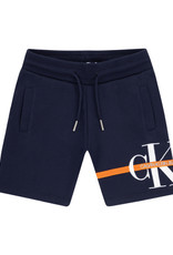 Calvin Klein Monogram Stripe Sweatshort