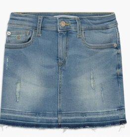 Calvin Klein Skirt Luster Destructed Stretch