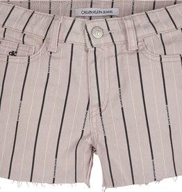 Calvin Klein Straight Mr Short Striped Pink