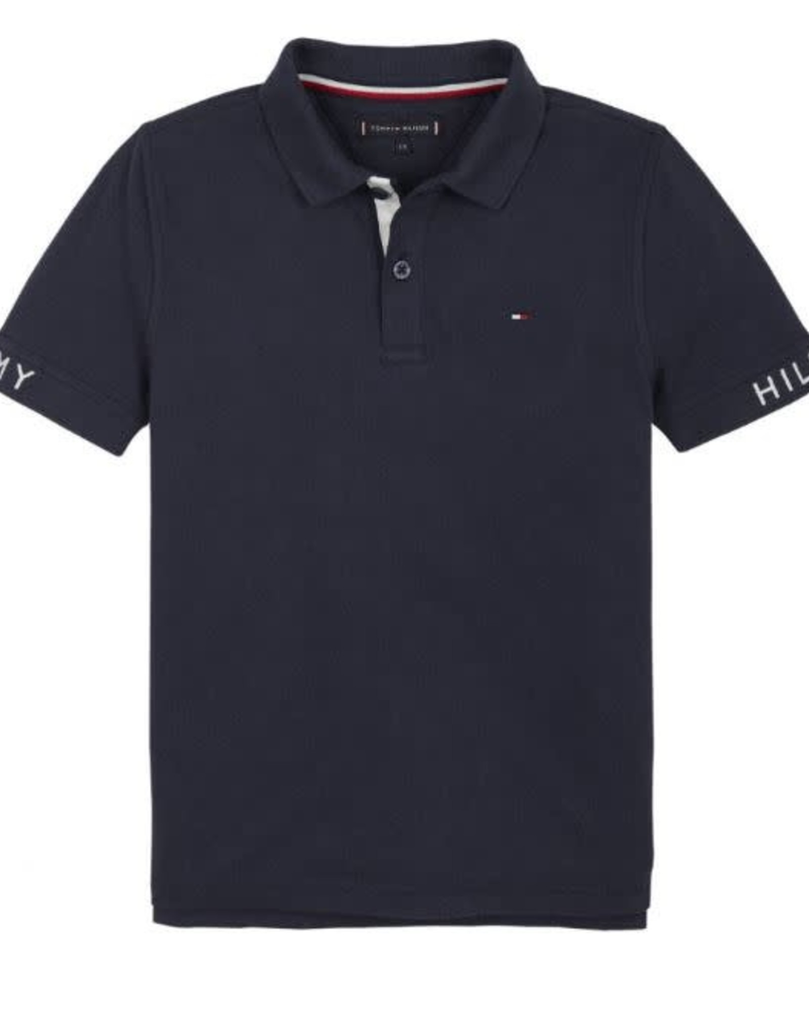 Tommy Hilfiger Sleeve Text Polo S/S C87