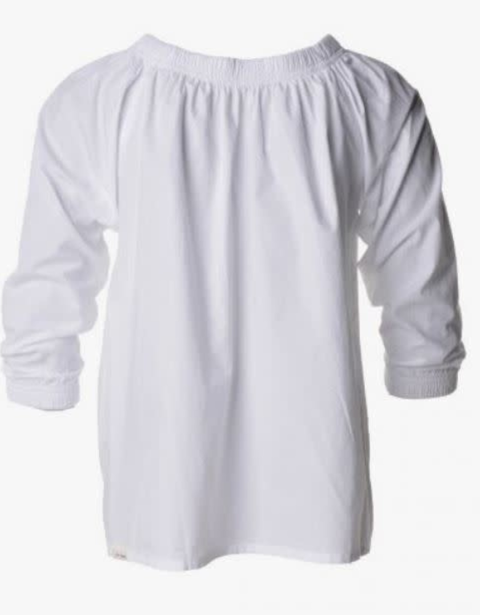 Penn & Ink N.Y. Blouse Off Shoulder White mt 16