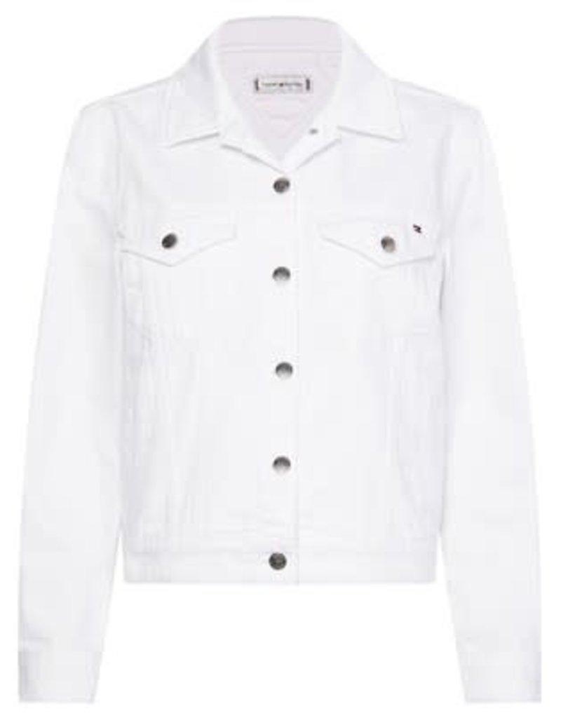 Tommy Hilfiger White Denim Jacket