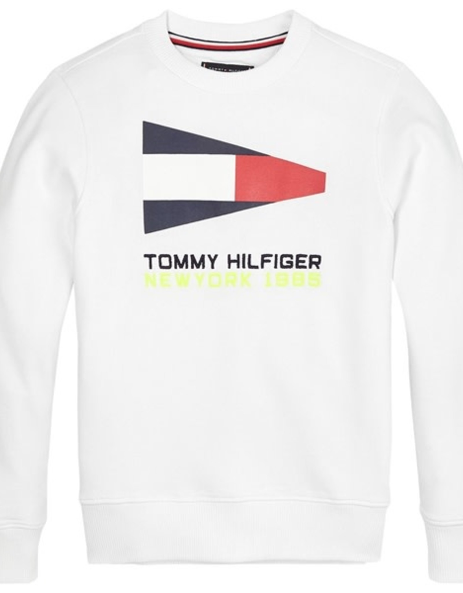 Tommy Hilfiger Sailing Flag Graphic Sweatshirt