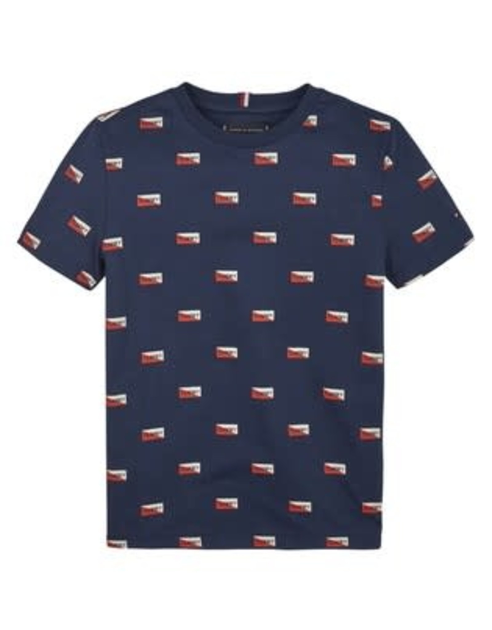 Tommy Hilfiger Printed Shields Tee S/S