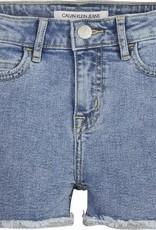 Calvin Klein Slim HR Short Salt Pepper Stretch