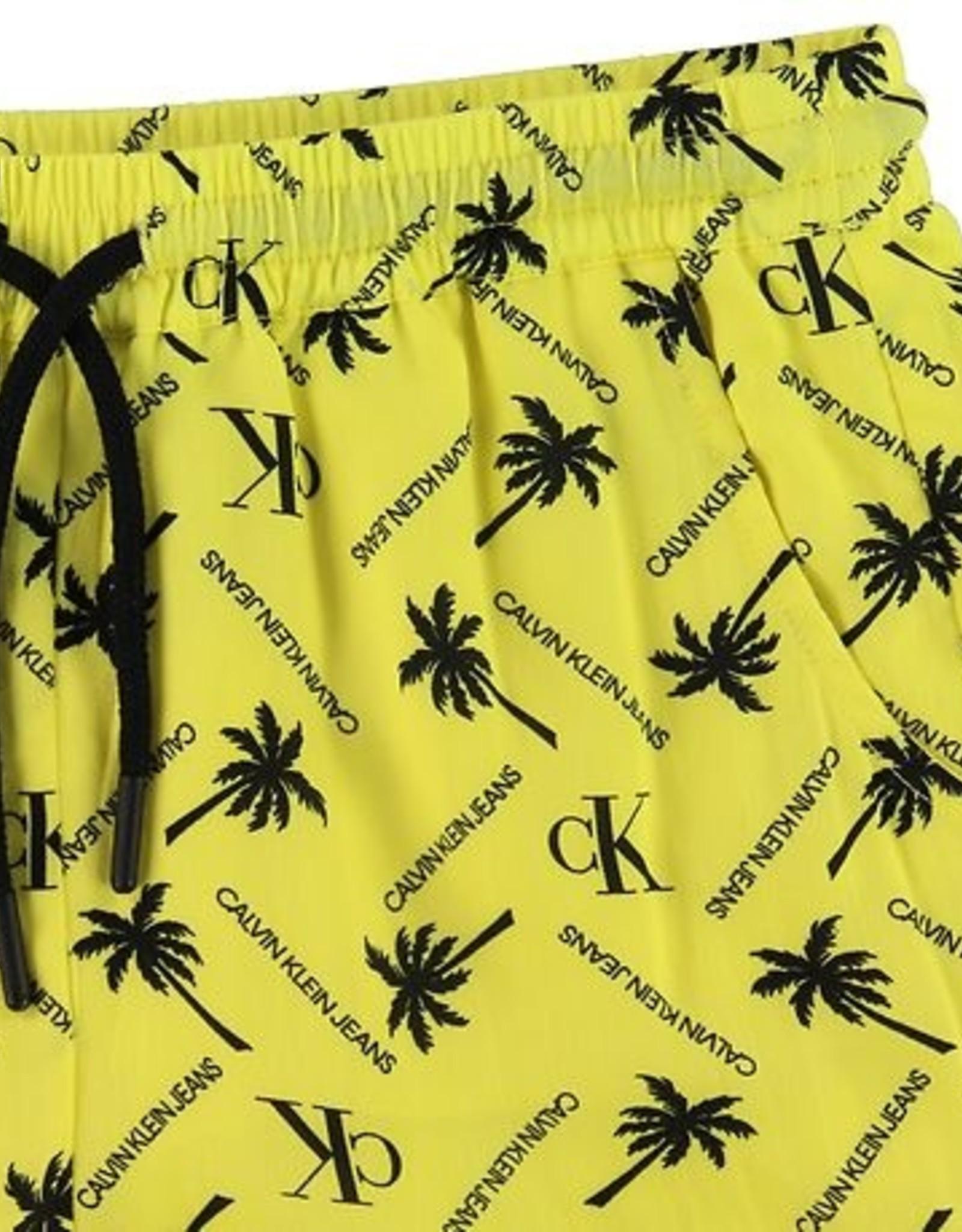 Calvin Klein Palm AOP Tencel Short