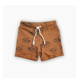 Sproet & Sprout Shorts Pufferfish Caramel mt 74-80