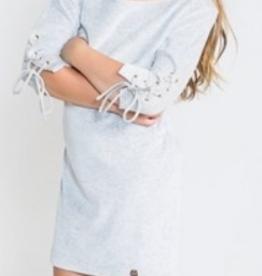 Jacky Luxury Dress Grey Melange