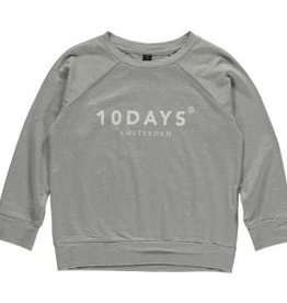 Little 10 Days T-shirt LS Grijs mt 8