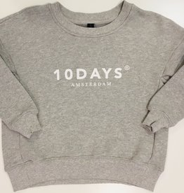 Little 10 Days Sweater Light Grey mt 4